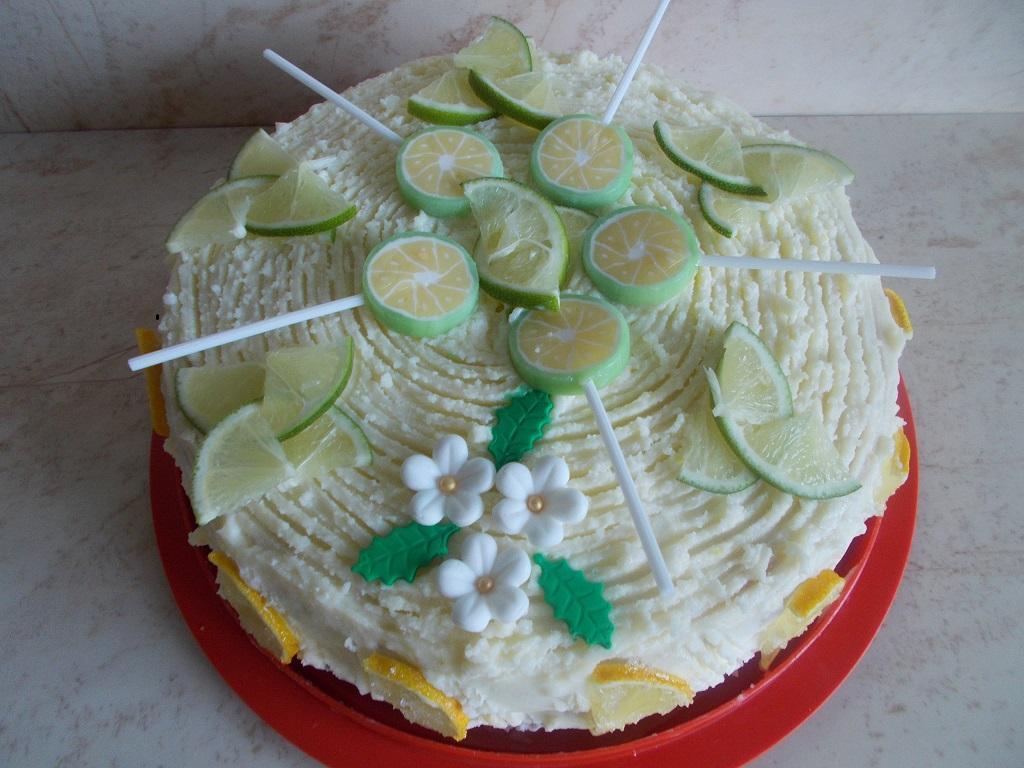 Desert tort cu crema de lamaie
