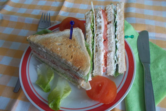 Cheese Club Sandwich