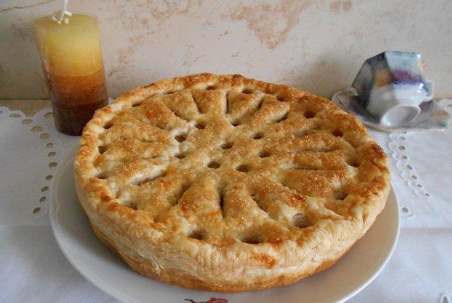 Tarta cu mere cu foietaj