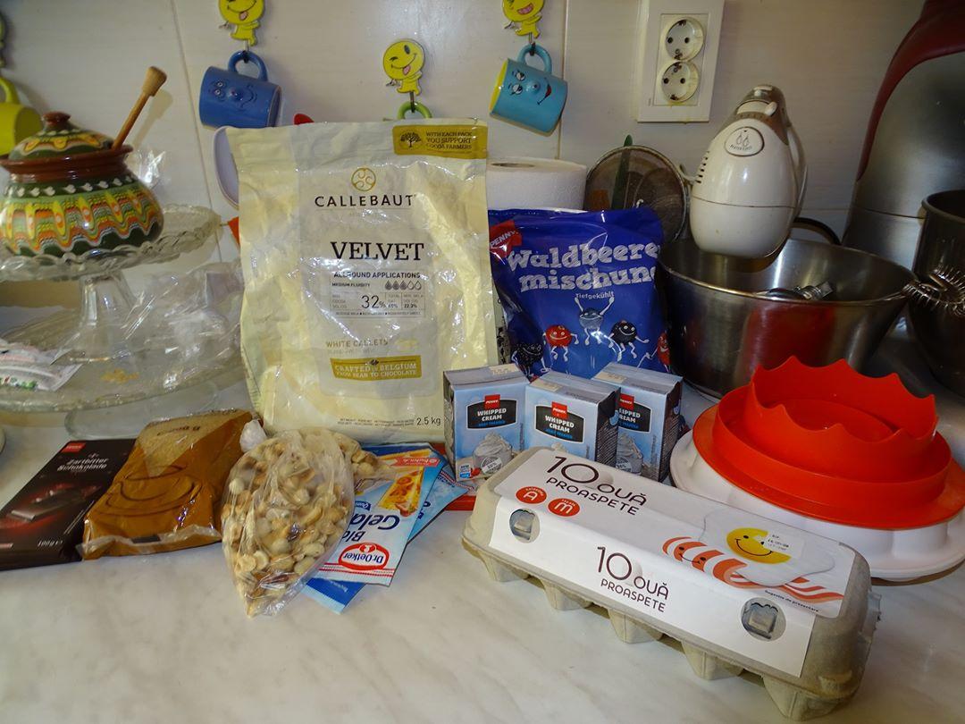 Desert tort Dana si Florin - Casa de piatra