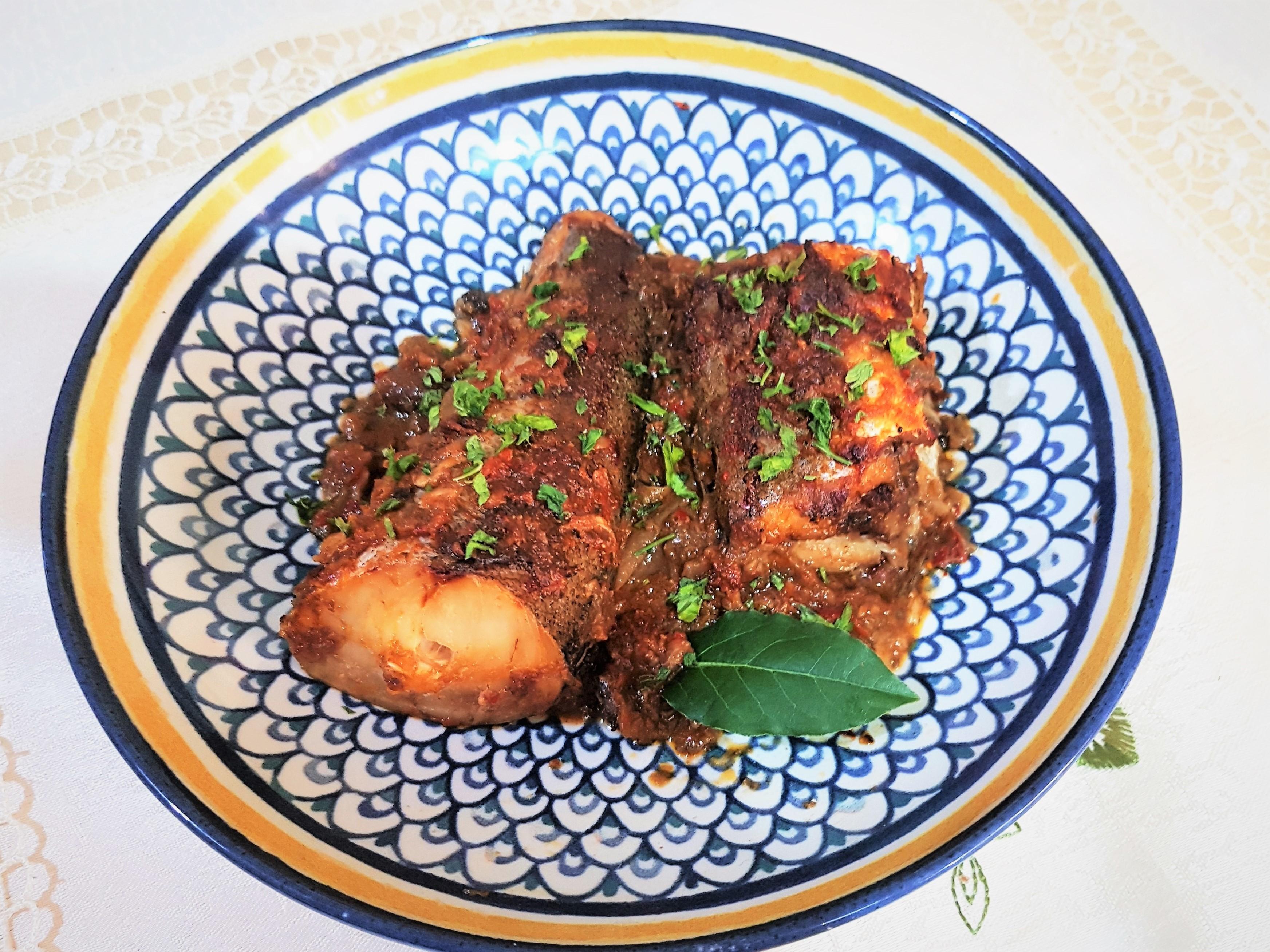 Cod  in sos de zacusca
