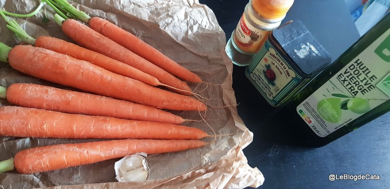 Salata marocana de morcovi