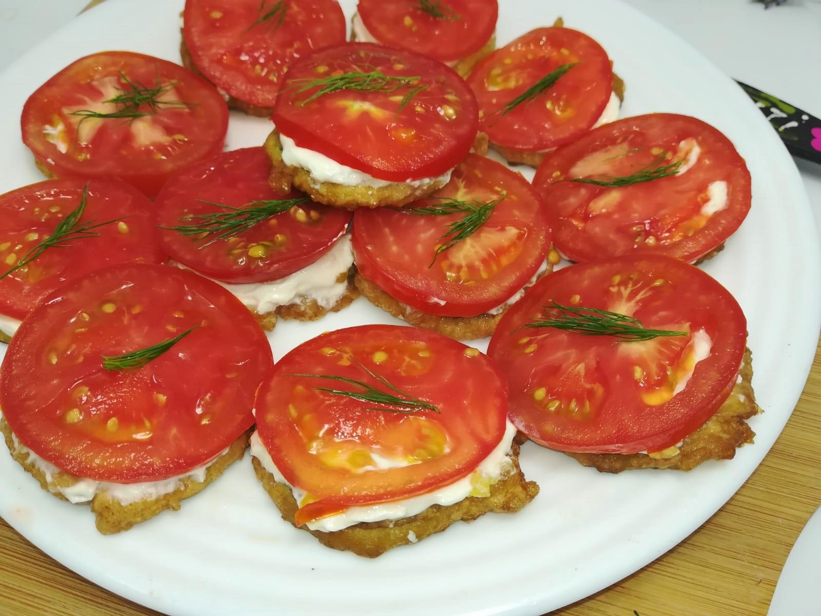 Sandwich-uri cu dovlecei