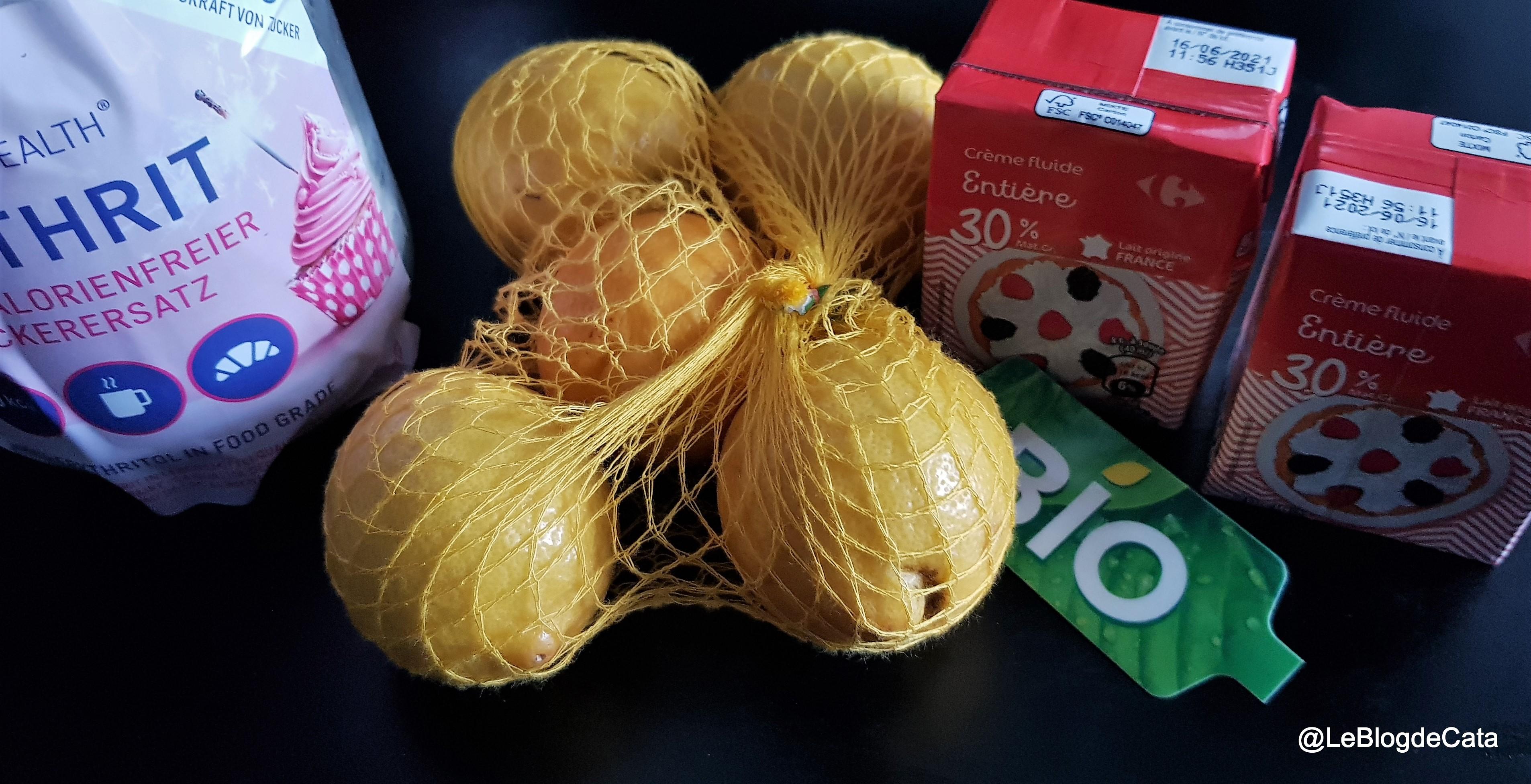 Desert crema de lamaie rapida / Lemon posset