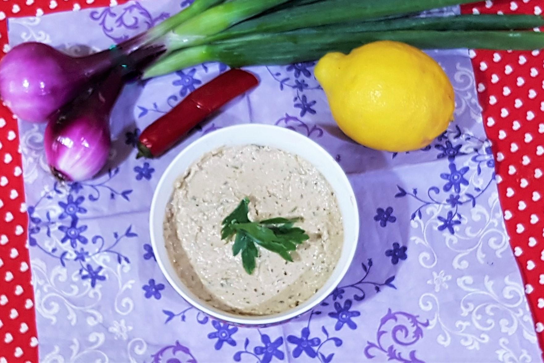 Salata de vinete cu iaurt si chimen